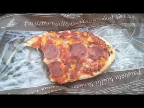 TOIVETESTI: Lidlin paistopisteen salamipizza ja lihapasteija
