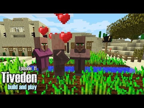 Minecraft Build & Play - Tiveden #11 - Attack of the Iron Golem