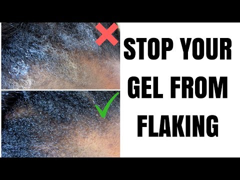 EASIEST WAY TO STOP YOUR GEL/EDGE CONTROL FROM FLAKING || Type 4 Natural Hair