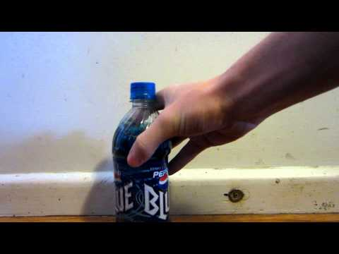 Throwing Pepsi Blue at Wall