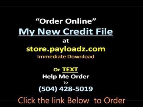 My New Credit File Kit