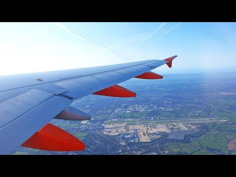 EasyJet Airbus A320 G-EZUL Take Off at London Gatwick Airport