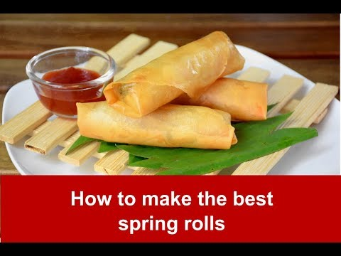 How to make the best spring rolls