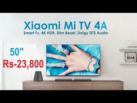 Xiaomi Mi TV 4A TV Launched | Xiaomi 4K TV 50