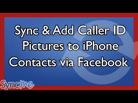 Sync, Update & Add a Caller Picture to Your iPhone Contacts from Friends Facebook Profile Pictures