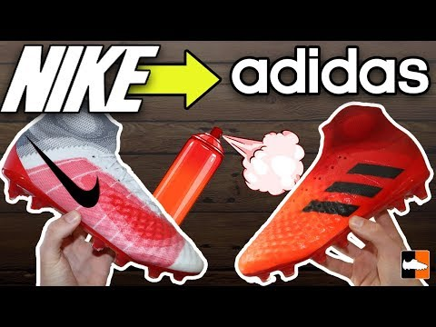 How To Make Nike Boots in to adidas!
