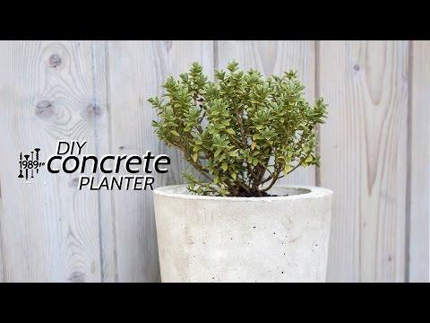 Concrete Planter | easy DIY