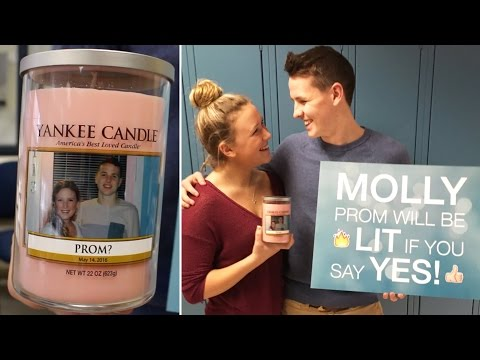 Yankee Candle Promposal