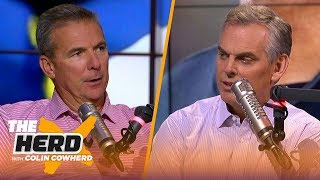 Urban Meyer joins Colin to talk Tua Tagovailoa and Michigan's must-win mentality | CFB | THE HERD