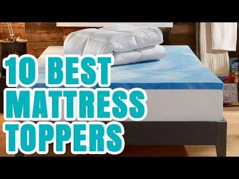 Best Mattress Topper 2017 – TOP 10 Mattress Toppers