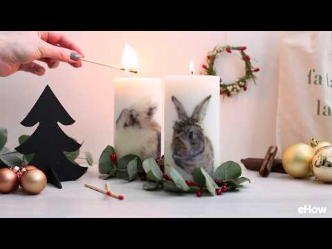 DIY Unique Picture Candles Tutorial