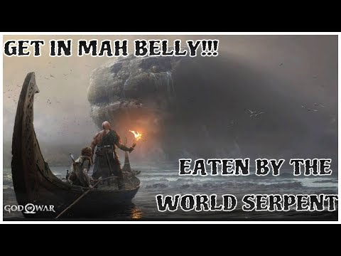 God of War LETS PLAY EP.25 [GET IN MAH BELLY!!!]