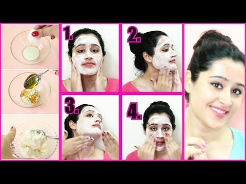 Skin Whitening Facial- Step By Step Facial  Fair, Glowing skin   Remove Sun Tan