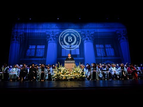 Barnard College Commencement 2018
