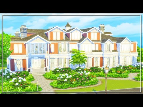 THE SIMS 4 | BUILD | MAXTON MANSION