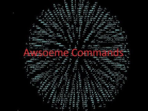 Awesome terminal / termux commands 2018 | Fun with Terminal