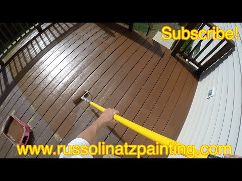 How to Clean & Prep Deck for Paint (Part 6)