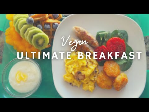 The Ultimate Vegan Breakfast | How To Make Vegan Chicken Sausage | Gluten-free | Korenn Rachelle