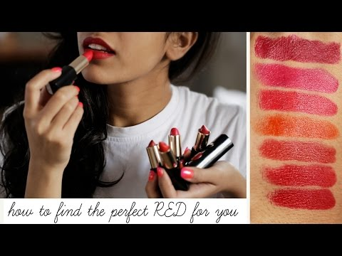 How To Find The Perfect Red Lipstick For You | Beauty Binge With Monica