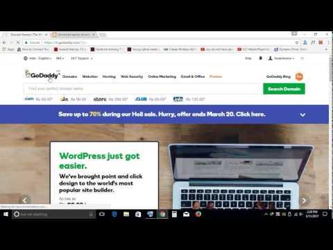 Setup Wordpress site on Godaddy Wordpress Managed Hosting step by step guide...