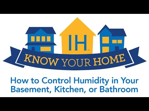 Control Humidity in Your House