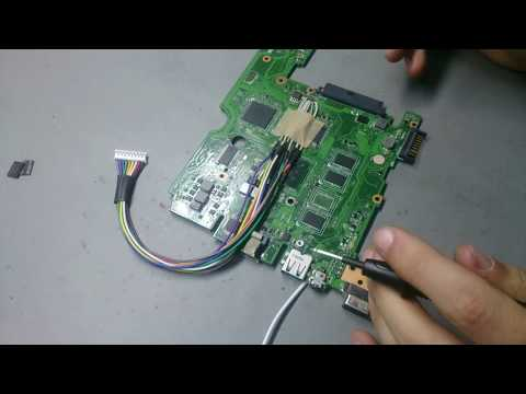 ASUS X101CH Tamir / RAM & Chipset Replace