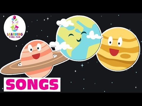 The Planets Lullaby | Kid's Learning Songs | Learning Time Fun | Planets for Kids Songs
