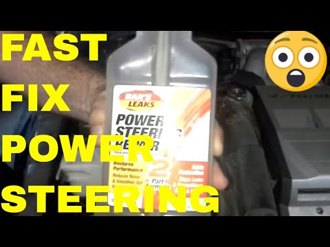 Fix Power Steering Leak and Noise For Less than $10, Bars Power Steering Repair /Review