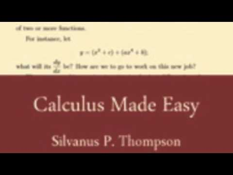 Calculus Made Easy Audiobook