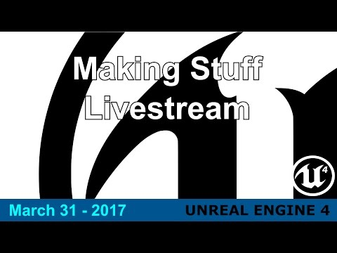Mar/31/17 - Learning stuff in UE4 - MMO Slice Login/Character Creation system
