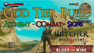 Witcher 3: Hybrid Build v3 0 (Swords + Signs + Alchemy