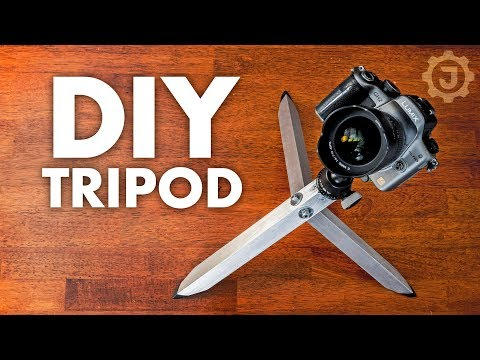 How Simple Can a DIY Tripod Be?