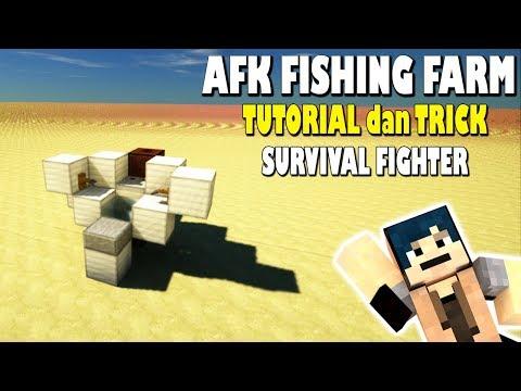 TRICK dan TUTORIAL AFK Fishing Farm! Minecraft Indonesia