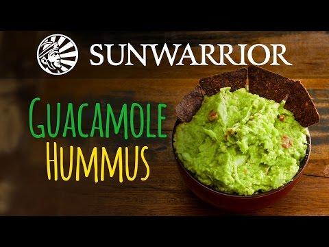 Guacamole Hummus Recipe | Sunwarrior
