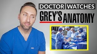 DOCTOR Reacts to GREY'S ANATOMY - Medical TV Drama Review