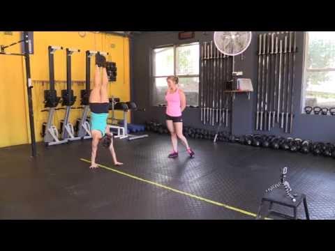 Gymnastics Tips: Handstand Walking Pirouette