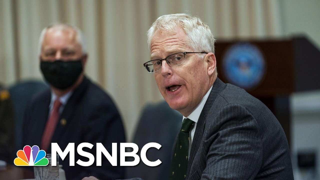 Late Maneuvers By Trump Add Anxious Air To Typically Tranquil Transition | Rachel Maddow | MSNBC