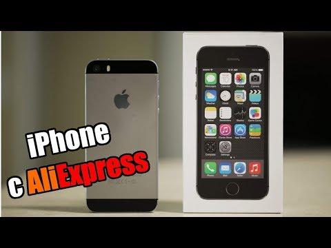 Лучший iPhone с AliExpress! iPhone 5s refurbished!