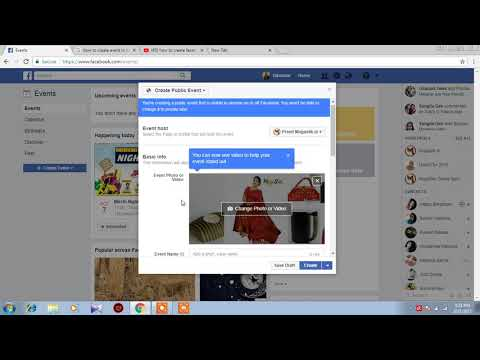 how to create a facebook event in hindi