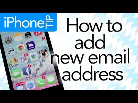 How to add new email address to your iPhone (iOS6 and iOS7)