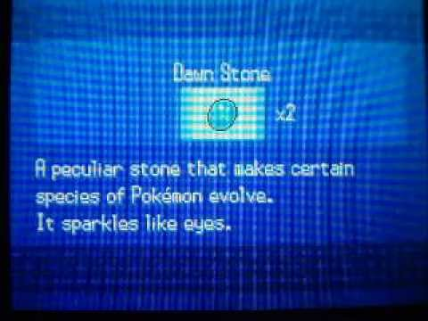 Pokemon Black/White - How to get Dawn Stone