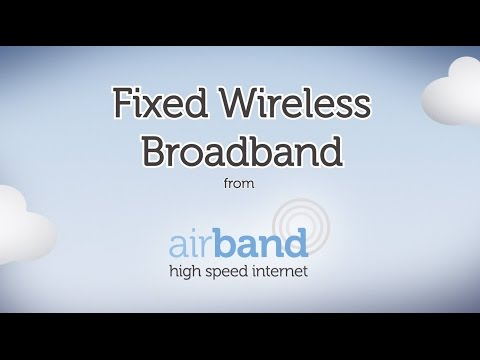 Fixed wireless broadband from Airband - how it works