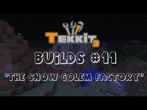 ShiftKlik's Tekkit Builds - #11: The Snow Golem Factory