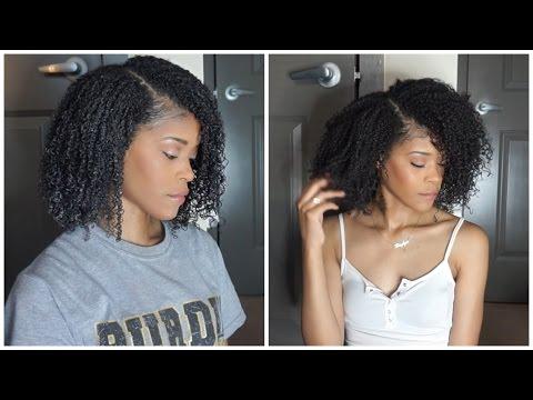 Shingling Method on Natural Hair   3C 4A 4B