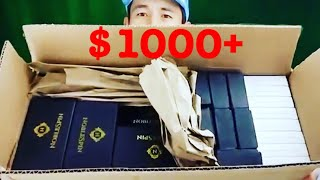 Download OMG! FREE HUGE BOX of Fidget Spinners (Noble Spin) + 3 Giveaway Winners Announced! Video