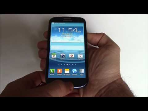 How To Take A Screenshot On A Samsung Galaxy S3 Smartphone