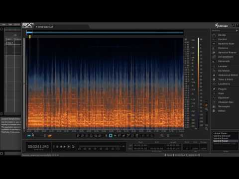 How to remove noise from old tape recording