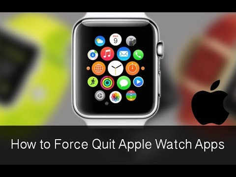 How to Force Close an App on the Apple Watch