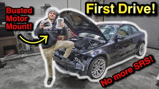 Rebuilding The CHEAPEST 2011 BMW 1M in North America From A Salvage Auction! Part 4