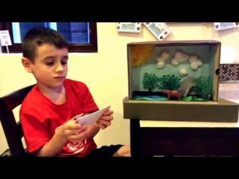 Learn about bears.   Calvin first grade diorama project in Singapore.